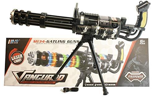 GYD MG LED Flash Spielzeuggewehr Spielzeug Gewehr XXL (Spielzeug Gewehr Black Ops)