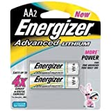 Energizer Advanced Lithium Batteries Size Aa Blister Pack 2