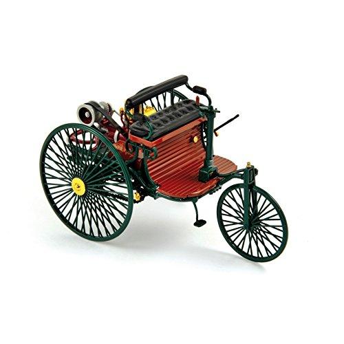 Norev 183701 - Sammlermodell, Benz Patent-Motorwagen 1886 HQ, 1/18 aus Metall