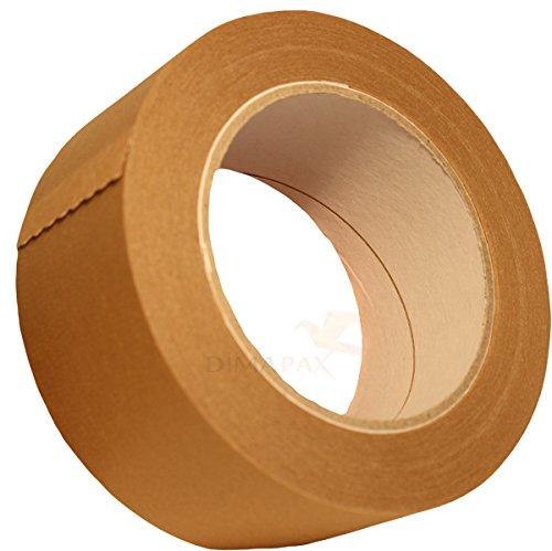 6 Rollen Papier Klebeband Paketband Packband 50m X 50mm braun 120my dimapax