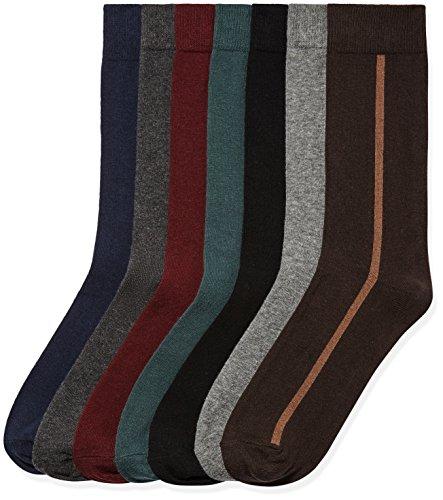 Find. e071m vertical stripe, calze uomo, multicolore (multicoloured), 39-43.5  (talla produttore: 39-43.5 )
