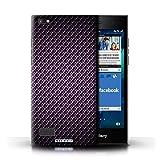 STUFF4 Phone Case / Cover for Blackberry Leap / Purple