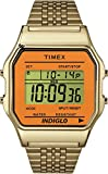 Timex Unisex Watch Timex ® TW2P65100 80 Digital Display and Silver Stainless Steel