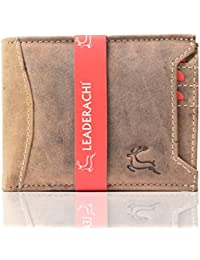 Leaderachi Hunter Leather Men's Wallet (Asti-Muskat)
