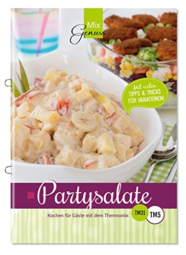 Buchseite und Rezensionen zu 'Partysalate: Kochen für Gäste mit dem Thermomix' von Corinna Wild