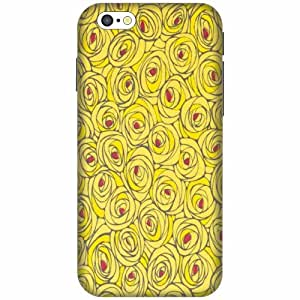 Printland Printed Hard Plastic Back Cover For Apple iPhone 6 -Multicolor