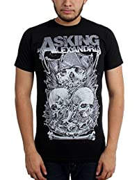 Asking Alexandria - - Crâne Stack Tee-shirt Homme