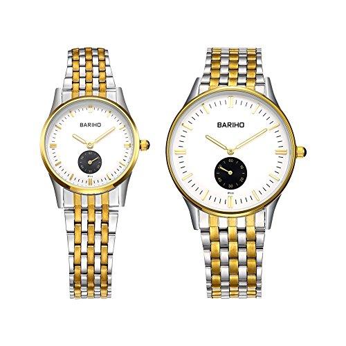 hongboom-dorado-de-lujo-banda-de-acero-inoxidable-reloj-de-pulsera-hombres-mujeres-casual-analogico-