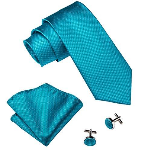 Hi-Tie Mode-Knickenten-M?nner Krawatte Match Hanky ??Manschettenkn?pfe - Krawatten Krawatten