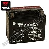 YUASA YTX12-BS Batterie, 12Â V/10Â AH (Maße: 150x 87x 130)