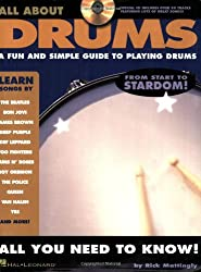 All About Drums: A Fun and Simple Guide to Playing Drums + CD
