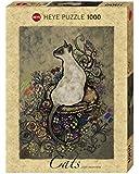 Heye 29610 - Jane Crowther, Cats Siamese, 1000 Teile Standardpuzzle