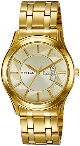 Titan Regalia Analog Off-White Dial Men's Watch -NK1627YM02