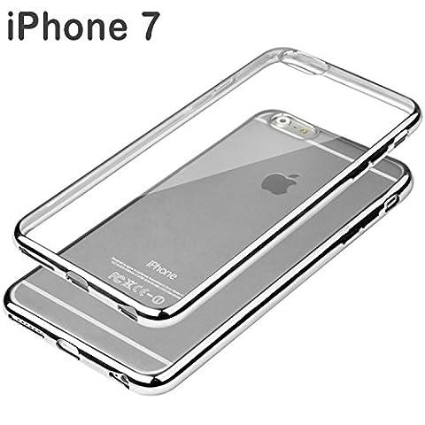 Apple iPhone 7 Schutzhülle Tasche Durchsichtig Transparent - Rand