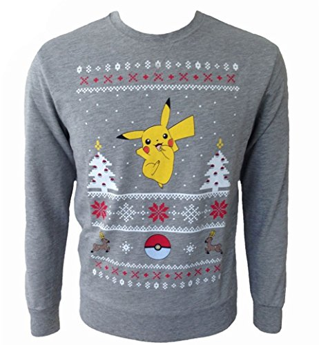 Chistmas Pikachu de Pokemon Pull–S, gris