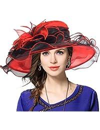 Mujeres Lglesia Derby Vestido Fascinator Gorro Nupcial Fiesta Boda Sombrero