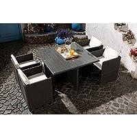 Amazon.fr : Salon Jardin Resine Tressee Encastrable - Voir aussi les ...