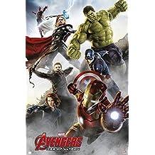 Grupo Erik Editores   Poster Marvel Avengers Age Of Ultron Group Iron Man