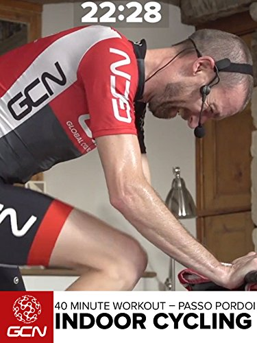 Indoor Cycling - 40 Minute Workout - Passo Pordoi [OV]