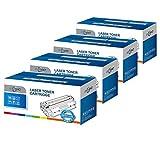 ECSC kompatibel Toner Patrone Ersatz für Samsung CLP-360 CLP-365 CLP-365W CLX-3300 CLX-3305 CLX-3305FN CLX-3305FW CLX-3305W SL-C410W SL-C460FW SL-C460W CLT-406S (B/C/M/Y, 4-Pack)
