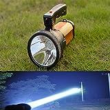 HOMYY Handheld Outdoor Spot Suchlicht wiederaufladbar Camping Laterne Super helle Taschenlampe mit Telefon Power Bank Fu
