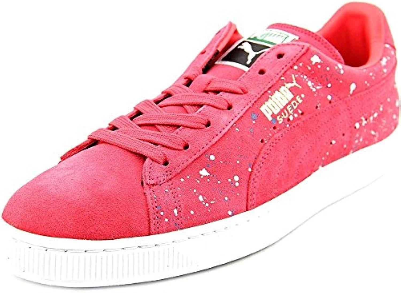 Herren Puma Suede Classic Farben Spritzer Turnschuh Schuhe  Billig und erschwinglich Im Verkauf
