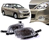 #4: Auto Pearl - Premium Quality Car Fog Lamp Lights For - Toyota Innova 2005-2012 (Without Plastic Sash Cover)