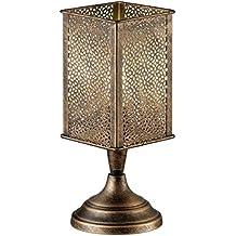 Trio Jana - Lámpara de sobremesa, color cobre antique
