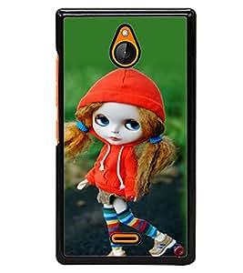 printtech Cute Anime Back Case Cover for Nokia XL , Nokia XL Dual SIM RM-1030/RM-1042 with dual-SIM card slots