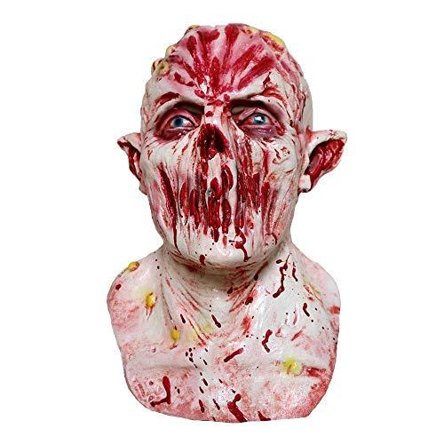 Fanfan Nozzle Maske Blutige Halloween Horror Resident Böse Latex Kopfbedeckungen Zombie Devil Mask Kopfbedeckungen