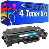 PlatinumSerie® 4x Toner-Patrone XL kompatibel für Samsung MLT-D103L Schwarz ML-2900 Series ML-2950 ND ML-2950 NDR ML-2951 D