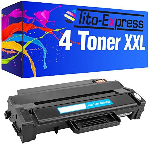 Preisvergleich Produktbild PlatinumSerie® 4x Toner-Patrone XL kompatibel für Samsung MLT-D103L Schwarz ML-2900 Series ML-2950 ND ML-2950 NDR ML-2951 D