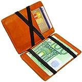 URBANIST™ Magic Wallet - die etwas andere Geldbörse | Mit RFID/NFC Schutz | Herren-Portemonnaie - smart, Slim & modern | Ideal als Geschenk