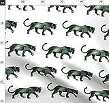 Panther, Katze, Kätzchen, Tara Put, Löwe, Tiger Stoffe -