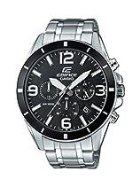 Casio Herren-Armbanduhr Edifice Analog Quarz Edelstahl EFR-553D-1BVUEF