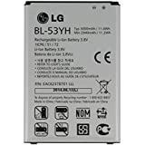 LG BL-53YH - Batería recargable (3.8 V, 3000 mAh, Li-ion), color blanco