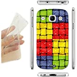 FUNDA CARCASA SLIM INTRECCIO COLORATO PARA SAMSUNG GALAXY CORE GT-I8260 TPU