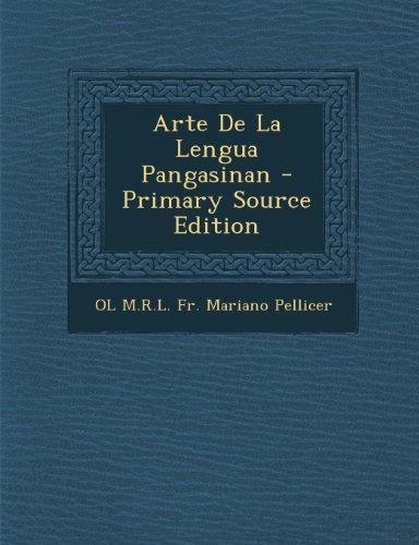 Arte De La Lengua Pangasinan