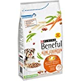 Purina Beneful Hundetrockenfutter Kleine Leckerbissen (mit Huhn, Gemüse und gesundem Getreide) 1,4kg Beutel