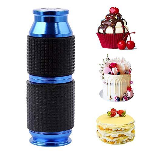 Hamkaw Peitsche Sahne Whipper Dispenser, Professionelle Aluminium Sahne Whipper Dessert Tools Für Kuchen Schlagsahne Mixed Drinks Kaffee