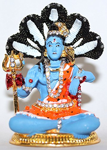 Odishabazaar Lord Shiva Idol pour tableau de bord de voiture/maison/bureau/cadeau idéal de l'article