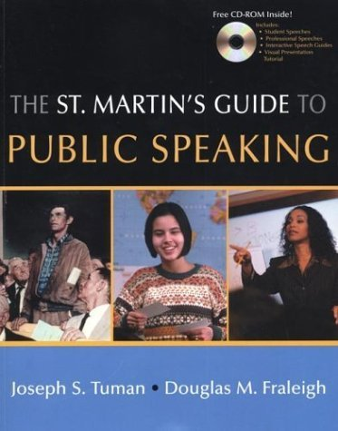 The St. Martin's Guide to Public Speaking by Joseph S. Tuman (2002-07-30)