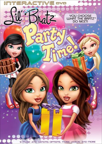 Bratz: Interactive - Lil Bratz Party Time [DVD] [Region 1] [US Import] [NTSC]