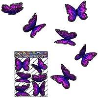 Adesivi per auto autoadesive con farfalla Rosa Wanderer - ST00028PK_SML - JAS Adesivi