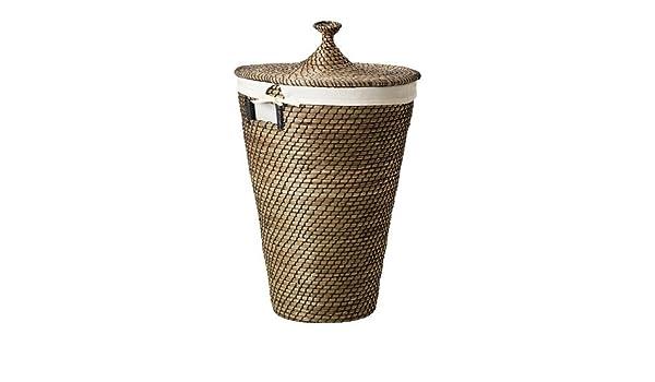 Ikea Asunden Laundry Basket Seagrass 50 L Amazoncouk