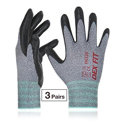 chuhe, 3D Comfort Power Grip, dünn dehnbar fit NylonSpandex, maschinenwaschbar Groß FN330 Grau 3PR (Billig Spielzeug Für Erwachsene)