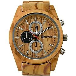 Holz Armbanduhr Niagara Olive