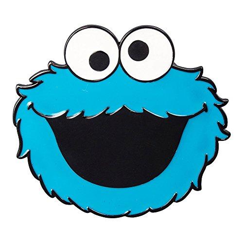 Fibbia Per Cintura Cookie Monster Sesame Street (Blu) - Taglia Unica