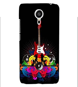 ColourCraft Guitar Music Back Case Cover for MEIZU MX5