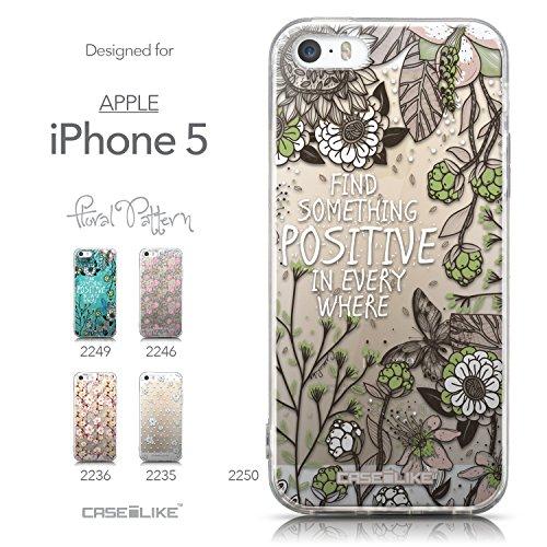 CASEiLIKE Comic Beschriftung 2914 Ultra Slim Back Hart Plastik Stoßstange Hülle Cover for Apple iPhone 5G / 5S +Folie Displayschutzfolie +Eingabestift Touchstift (Zufällige Farbe) 2250